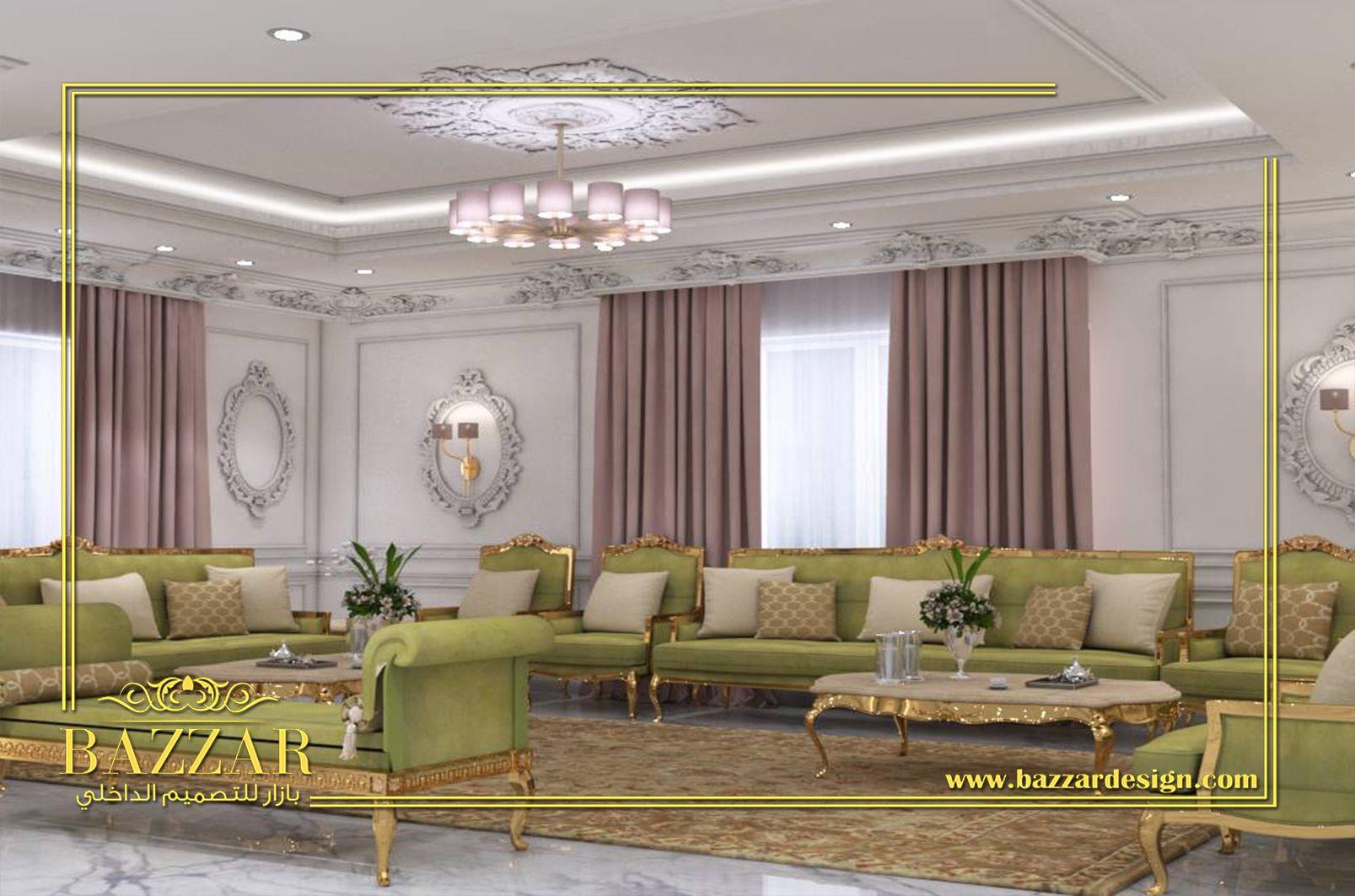 تصميم مجلس رجال كلاسيك يظهر ذلك فى الكرانيش المزخرفة والبانوهات كما تم اختيار قطع الاثاث الكلاسيكية الجميلة ذات الايمات الذهبيةوالطاولات Home Decor Home Decor