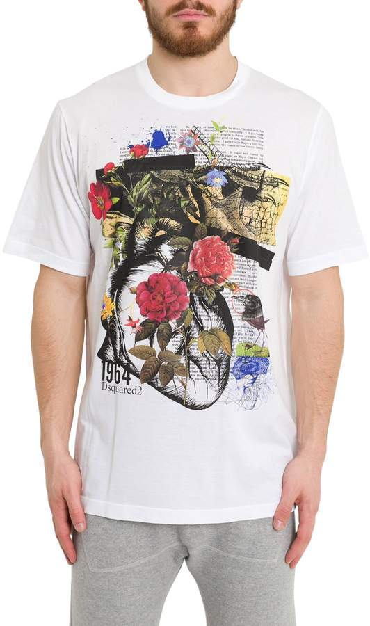 ec1c3b01c7d7 Dsquared2 Graphic Print Tee in 2019 | Products | Printed tees ...