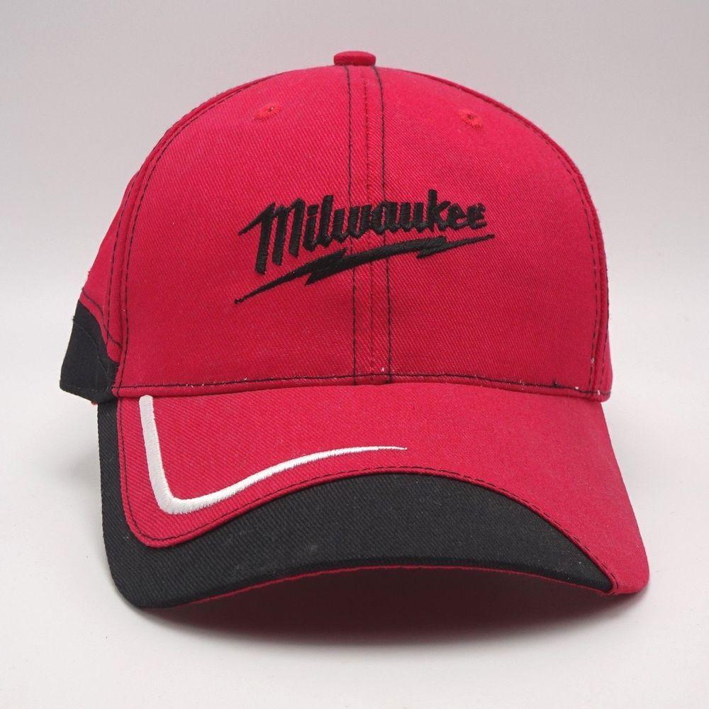 00af655d2d7a9 Milwaukee Tools Strapback hat Baseball cap Structured front  HeavyDutyGear   BaseballCap