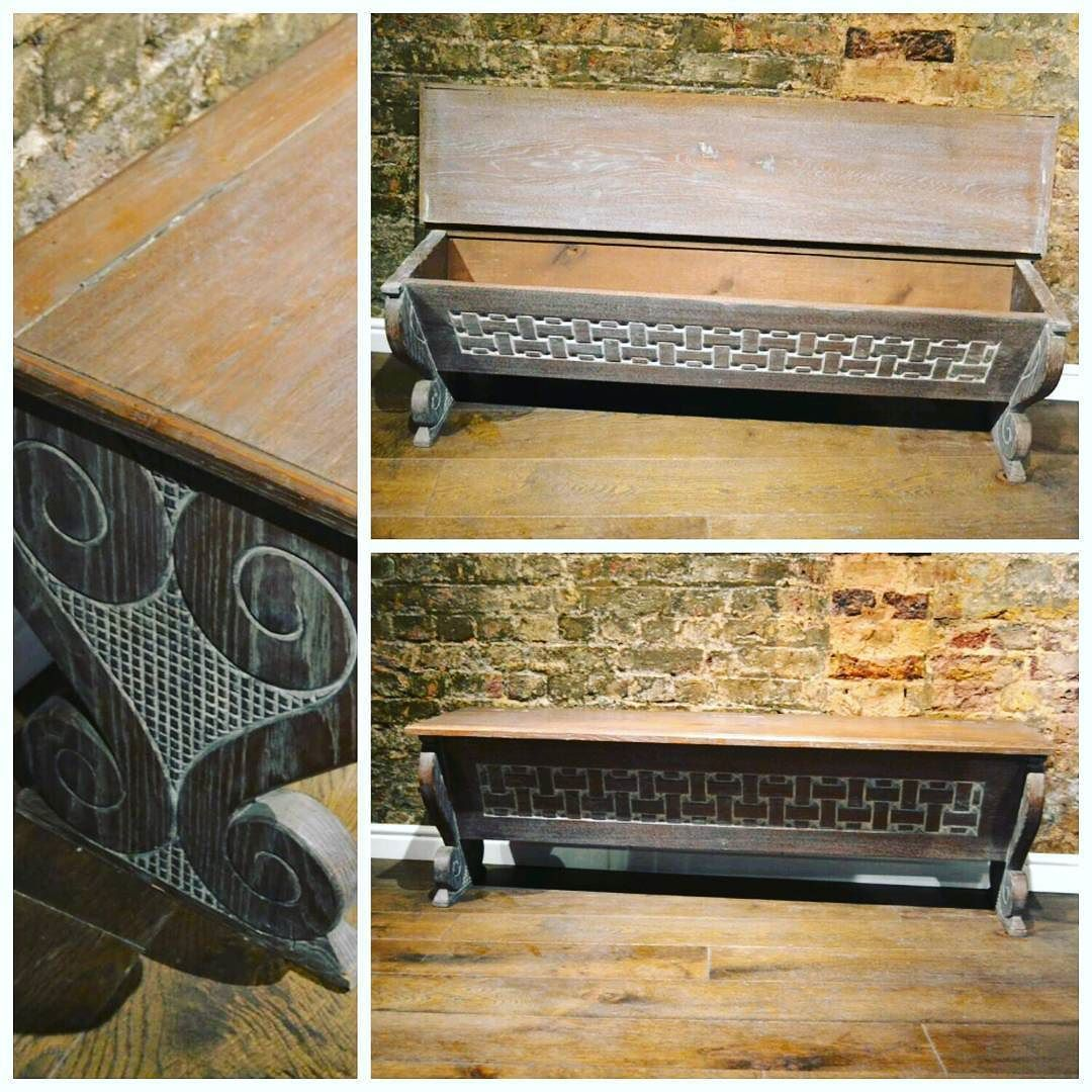 French Vintage Bench At D And A Binder