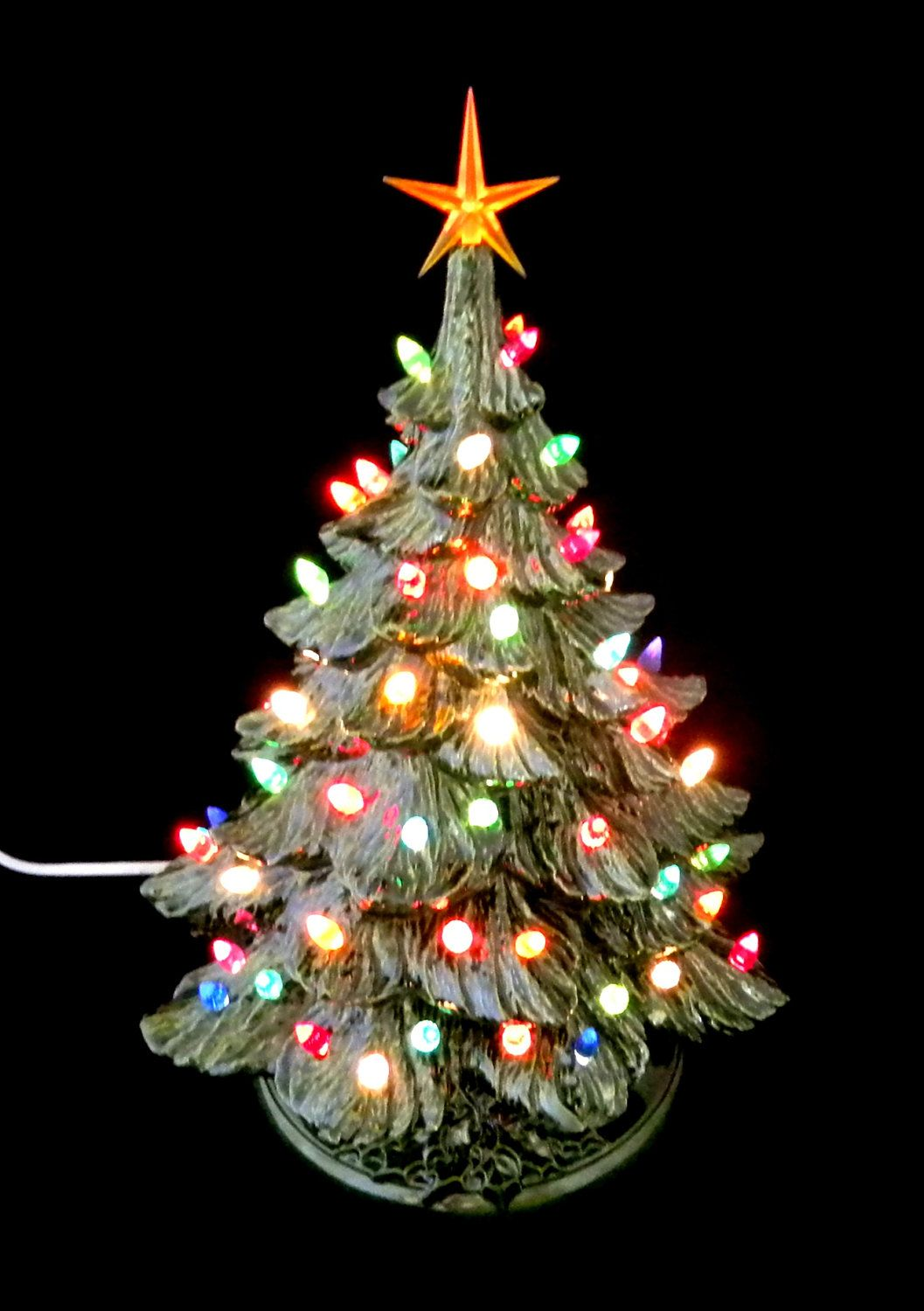 Christmas tree Large Traditional Old Fashioned GREEN