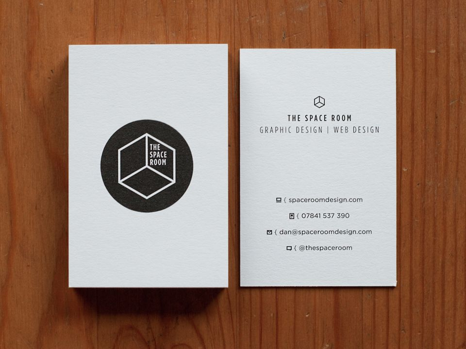 Space Room Business Card 01 | CORPORATE STATIONERY | Pinterest ...