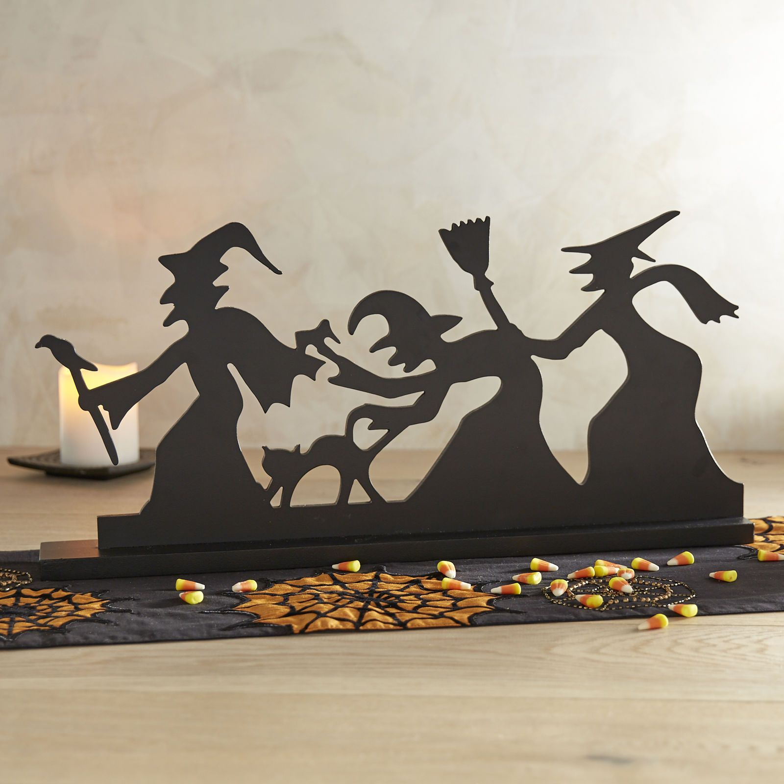 You know what they say about witches, right? That the word comes - Witch Decorations For Halloween