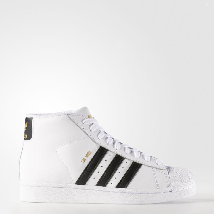 Pro Model Shoes White Kids | Adidas superstar, Superstars