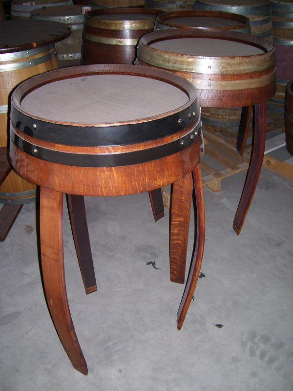 1497 tavoli a 3 piedi da fondi di botte briganti srl for Botte arredamento