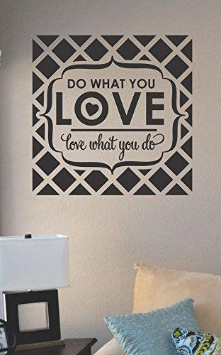 Do what you love love what you do vinyl wall art decal sticker js artworks http