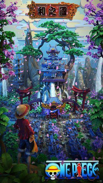 我用3D詮釋 海賊王新世界
