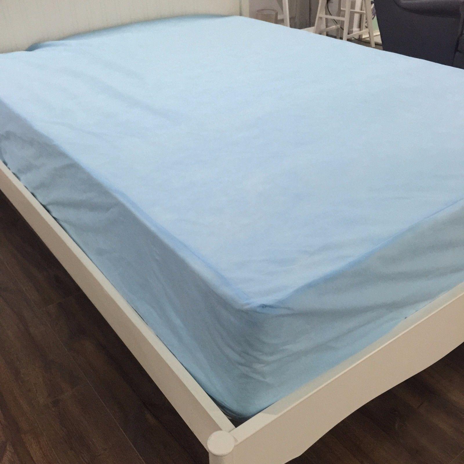Twin Queen King Waterproof Non Woven Mattress Protector Cover Customized Size Mattress Mattress Protector Bed Mattress