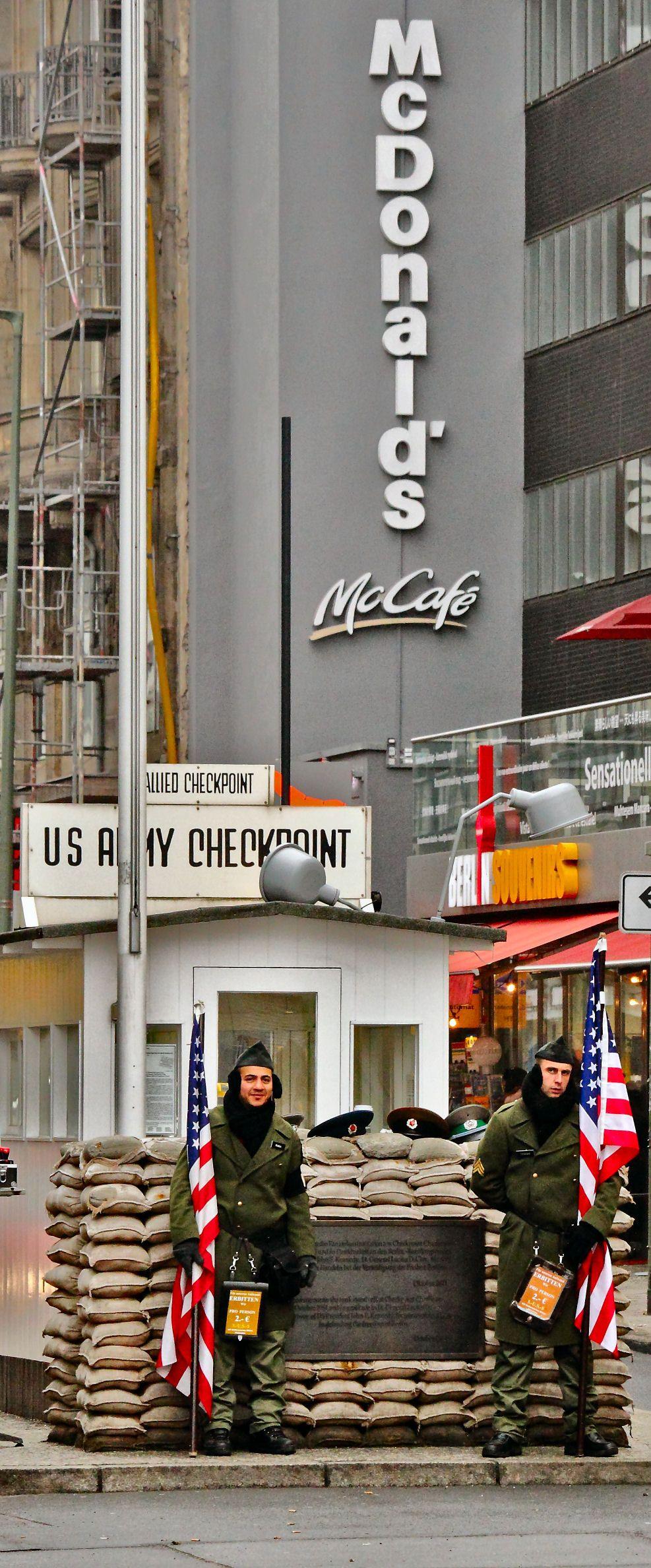 Germany Checkpoint Charlie Bccebccb