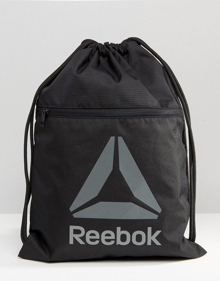 Reebok Drawstring Backpack With Classic Logo | Reebok | Pinterest ...