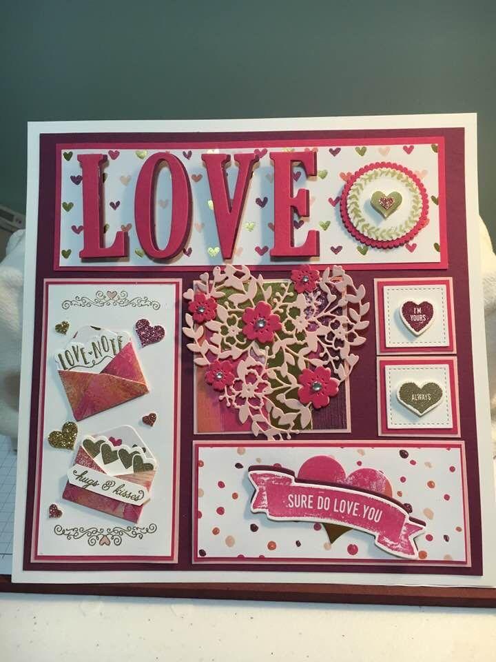 Pin de Gail Johnston en Cards   Pinterest   Tarjetas, San valentín y ...