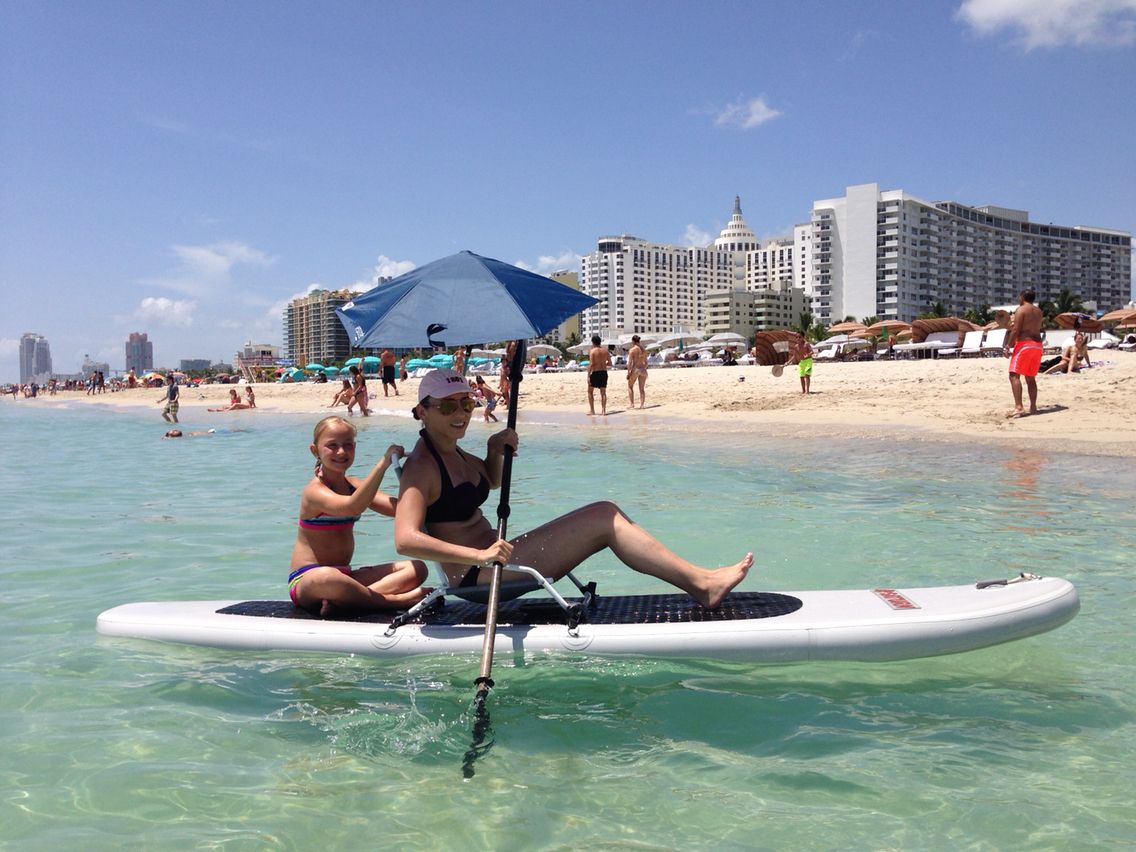 Beach Chair Mounted On Saturn Sup South Miami Inflatable
