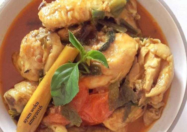 Resep Ayam Woku Yg Lezattt Oleh Amei Resep Resep Ayam Makanan Resep