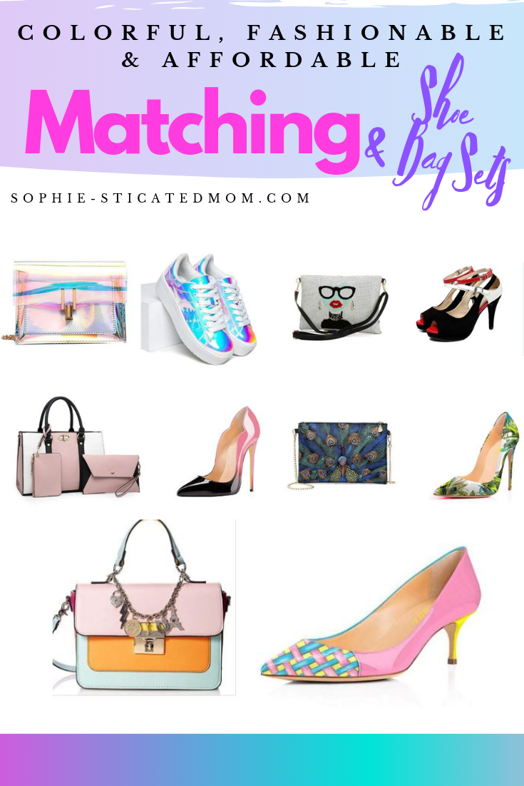 52f079e1a401 5 Amazingly Colorful & Affordable Shoes and Bags Set You'll Love Colorful  bags and