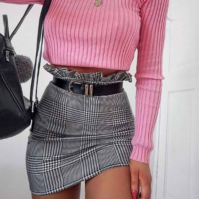 Sexy Zipper Skirts from clothing