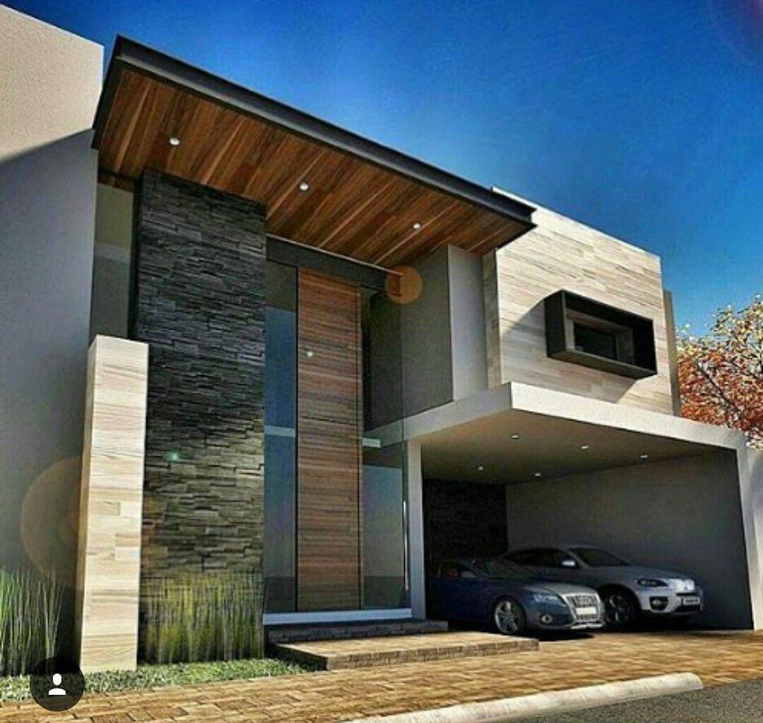 Pin de jorge en fachadas pinterest fachadas casas y for Fachadas de casas modernas minimalistas