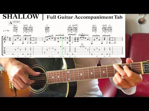 Shallow TAB Fingerstyle Solo Guitar Arrangement SCORE Acoustic SHEET MUSIC  PDF … – Brenda