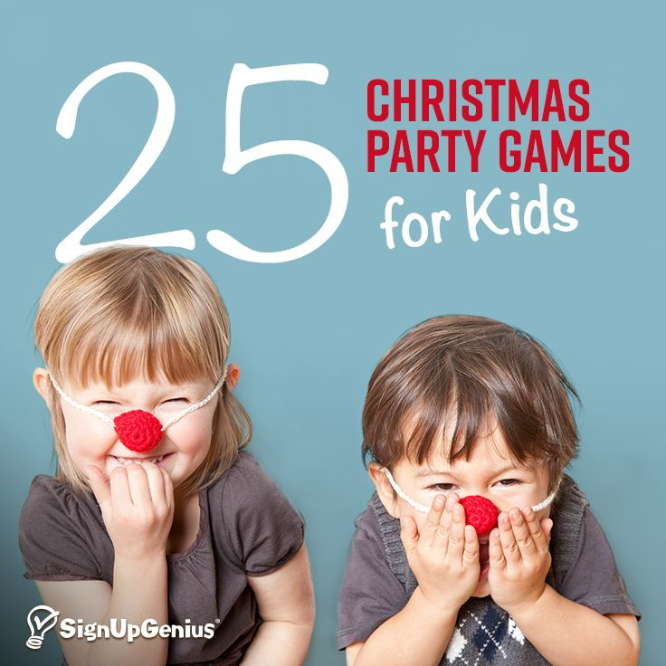 25 Christmas Party Games for Kids 25 Christmas Party Games for Kids. Entertain the children at your holiday party with simple activities!