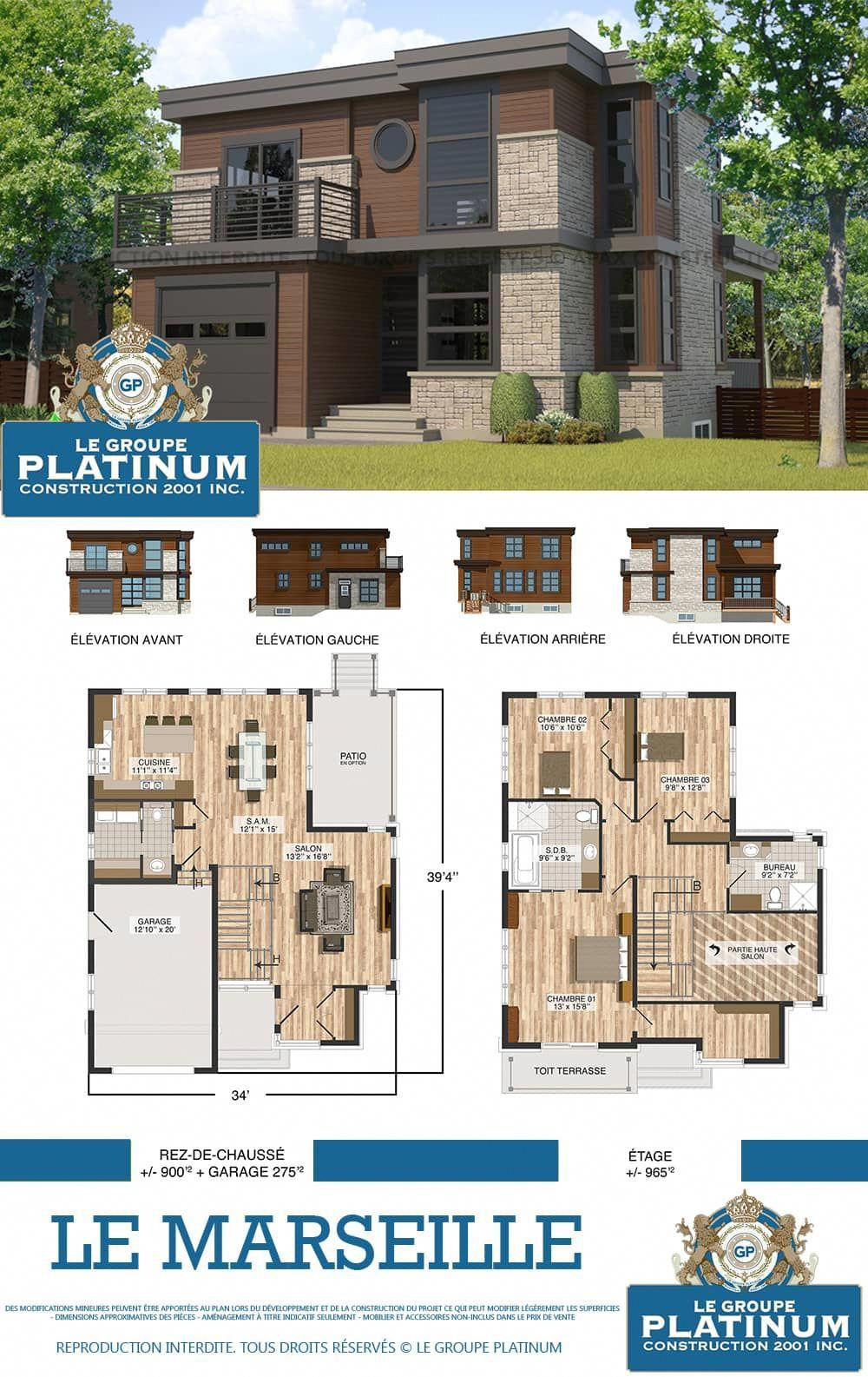 Modele De Construction Maison