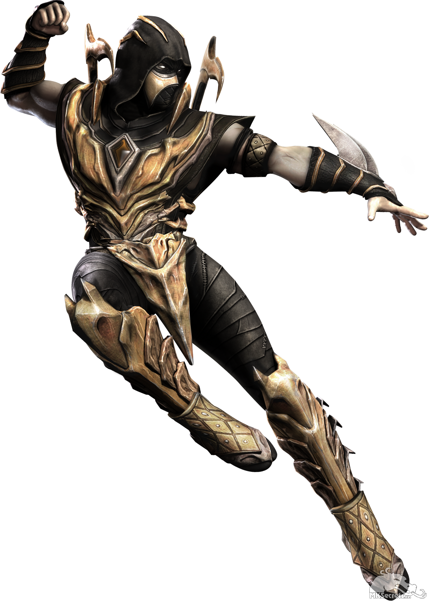 Injustice Gods Among Us Scorpion Render Png Scorpion Mortal