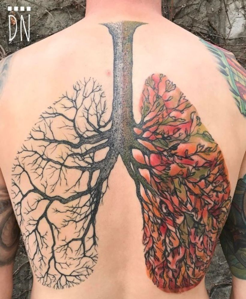 30 amazing idea tree tattoo that can inspire you