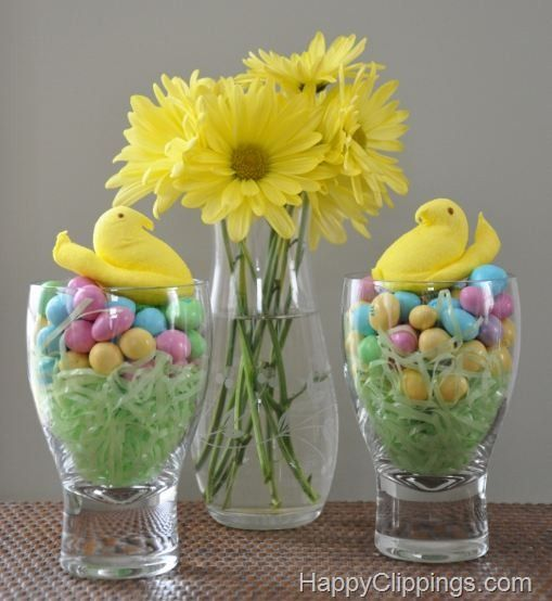 Sweet Peeps Chicks Candy Decoration Treat Plus Other Ideas At