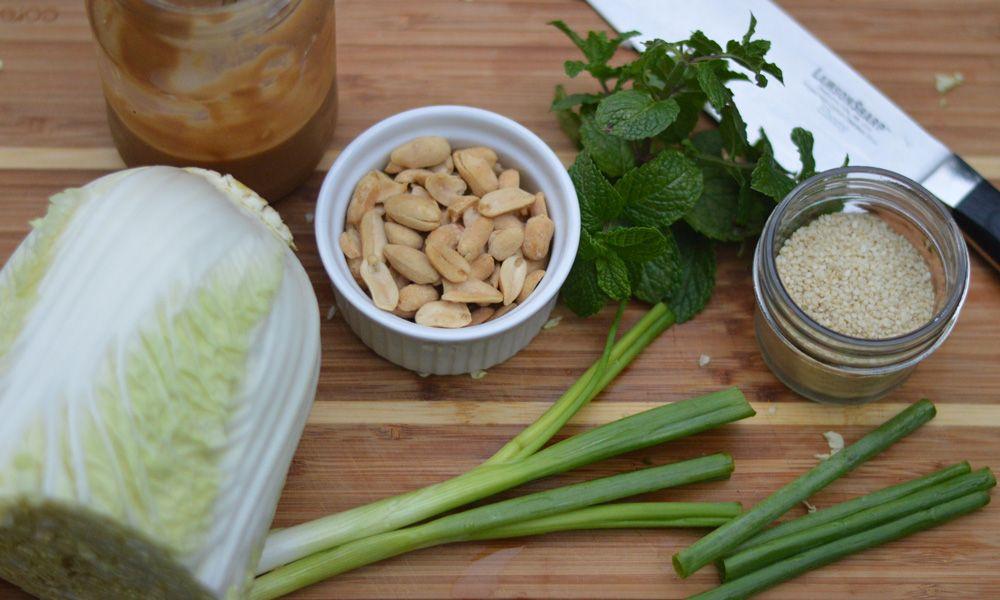 Napa cabbage asian chicken salad asian chicken salads
