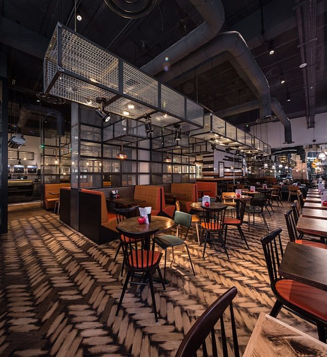 Commercial Lighting Glasgow: GBK (Glasgow) / Restaurant Or Bar In A Heritage Building