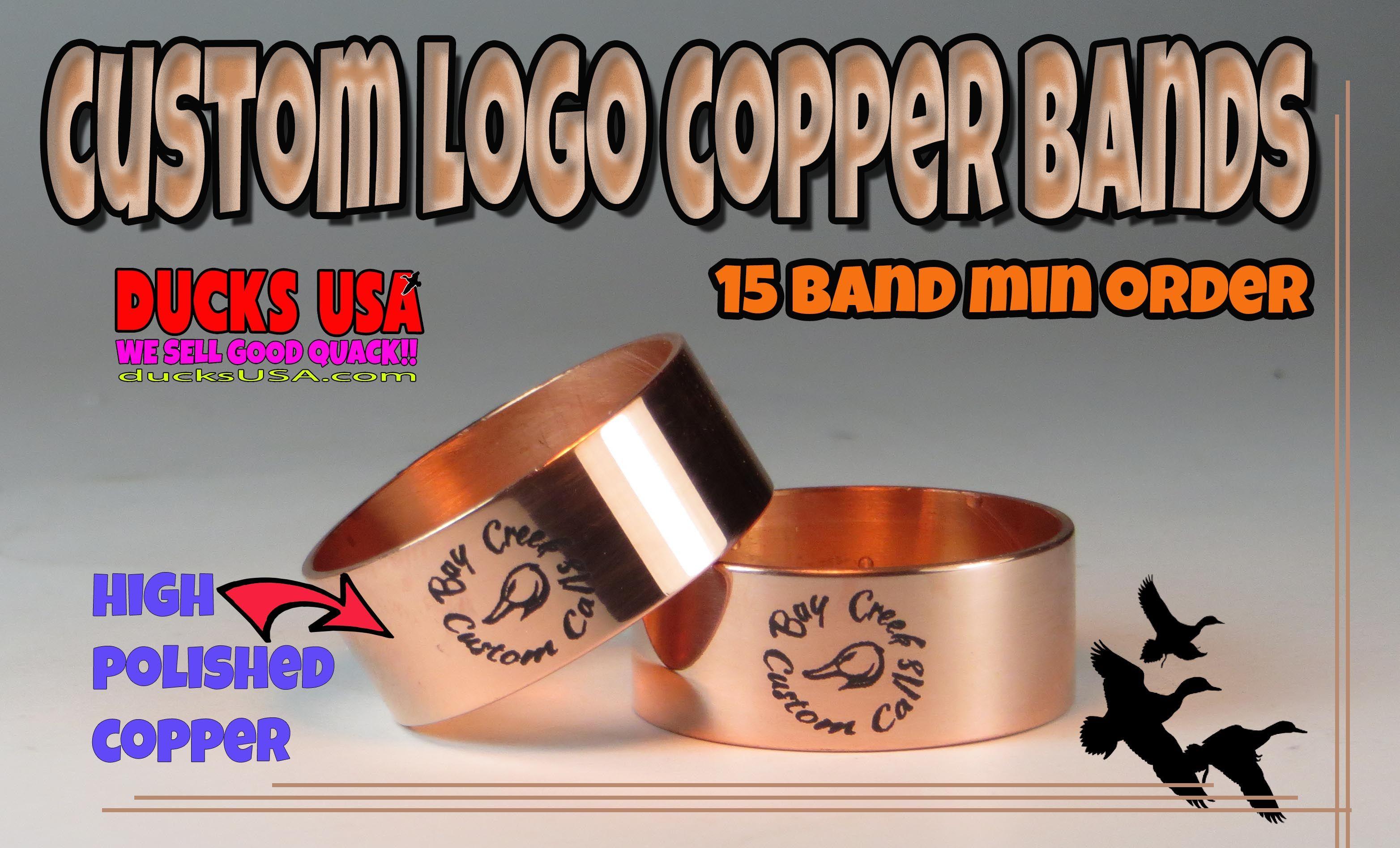 Ducks Usa Custom Laser Engraved Copper Duck Or Goose Call