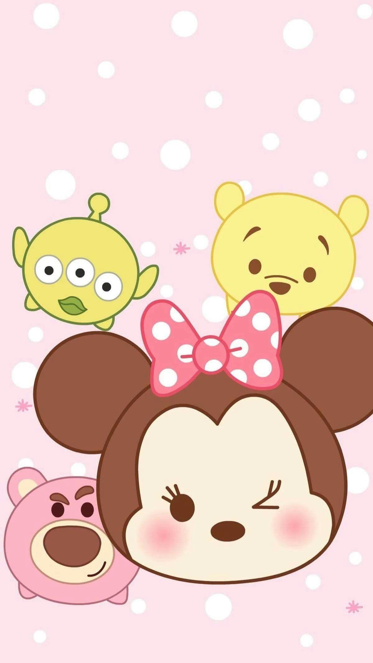 Tsum Tsum Disney Wallpaper Cute Disney Wallpaper Tsum Tsum Wallpaper