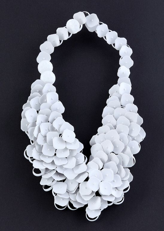 """Cherry Boonyapan -THAILAND My_milk_web  """"She was the member of Spreeglanz between August 2010 and July 2011 and convinced the jury of her talent by presenting petal-like necklaces and bracelets made from recycled plastic pieces of tetra pak spouts."""""""