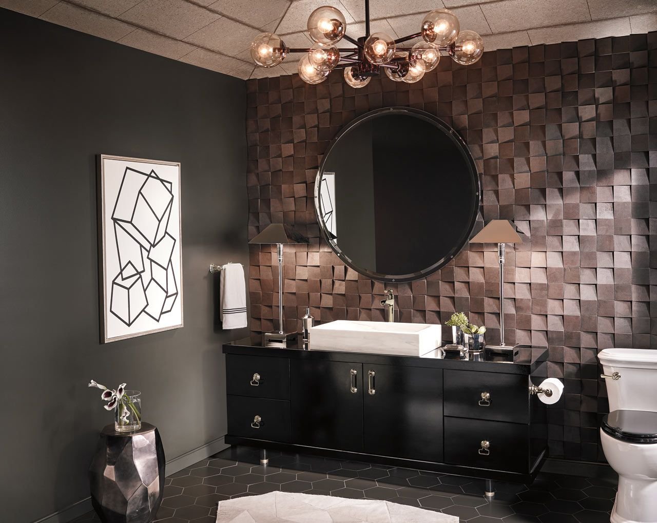 RookmasculinemodernbathroomChristianMay Traditional Sexy - Masculine bathroom design