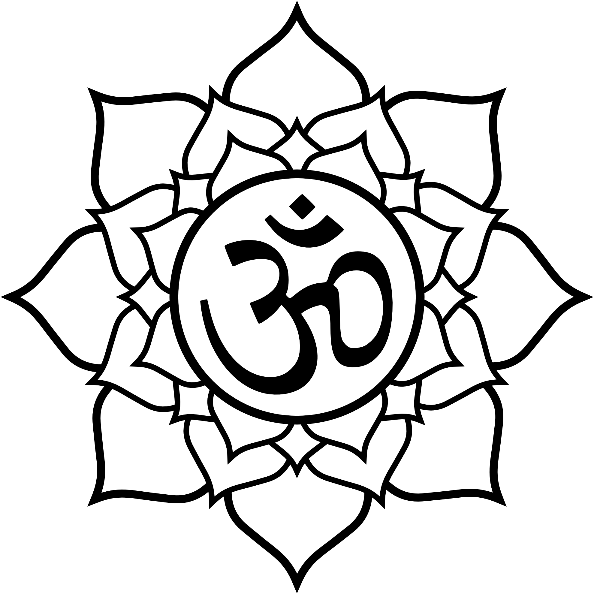 How to teach mantras to your kids tutorial tattoo and tatt lotus petal aum symbol om buycottarizona Image collections