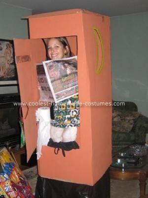 Original Homemade Outhouse Costume Costumes Homemade Costumes Halloween Costumes