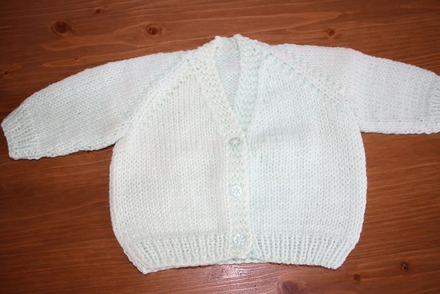 72fa2bc74532 Unisex V Necked baby Cardigan pattern by Morven Swan
