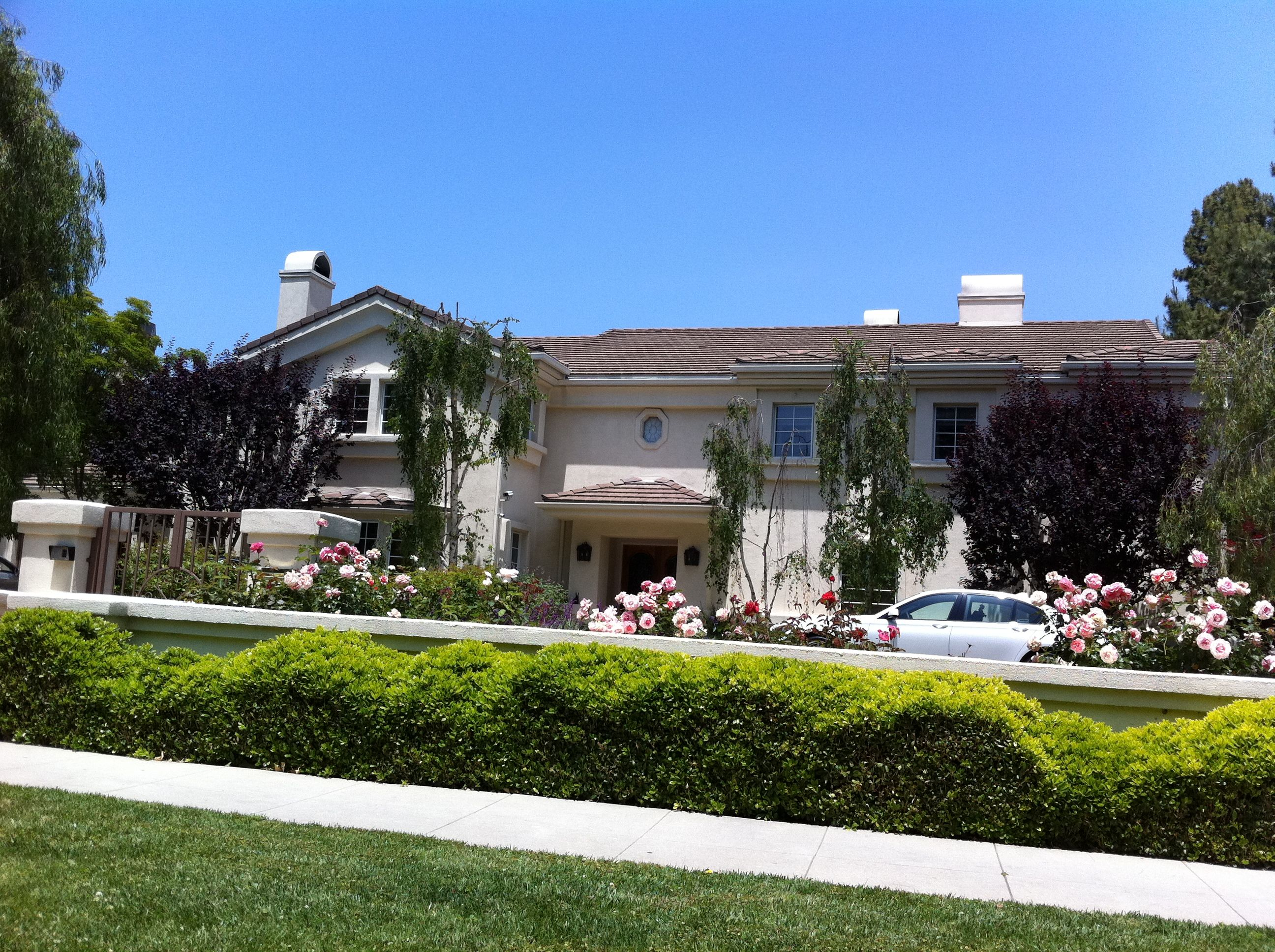Home of Lucille Ball on Roxbury Dr Beverly Hills