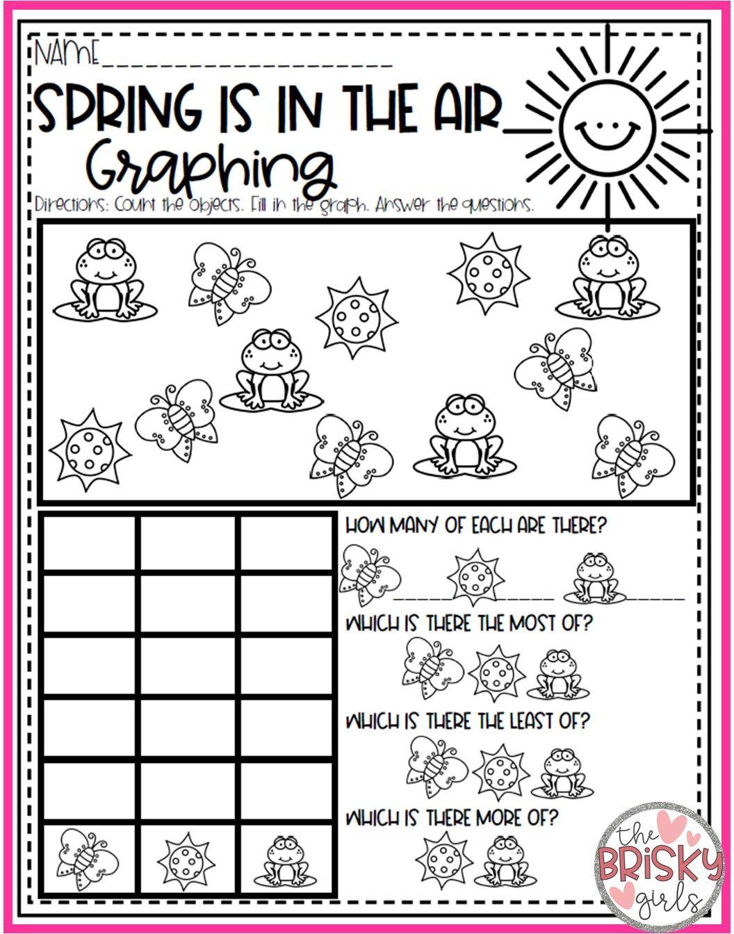 Spring Activities For Kids Spring Activities For Kindergarten Spring Activit Spring Math Activities Spring Kindergarten Activities Spring Literacy Activities