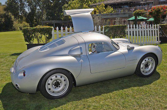 Photo: Picture 4 - LIVE: Vintech's Porsche 550 tribute breaks cover in Pebble Beach