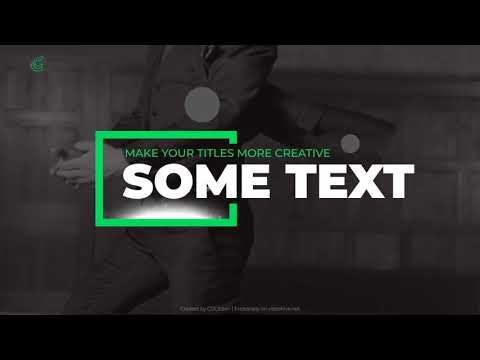 Light Flow Titles (Videohive After Effects Templates) | Trailer ...