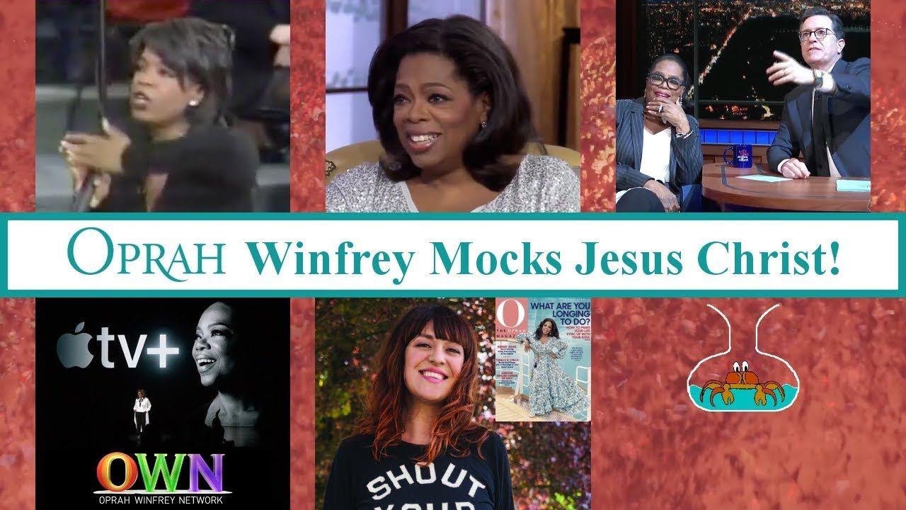 Oprah Winfrey mocks Jesus Christ! - YouTube | Oprah winfrey, Oprah ...