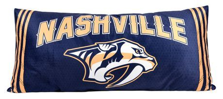 Nhl Body Pillow Nashville Predators