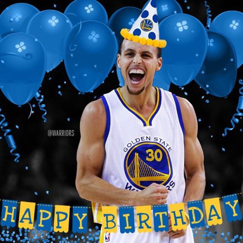 How is old is #warriors player #StephenCurry today? From #1 #NBA Quiz App