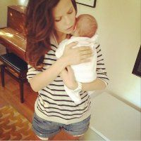 Tammin Sursok Reveals Precious Photo Of Newborn Daughter Phoenix - http://bit.ly/HohssU