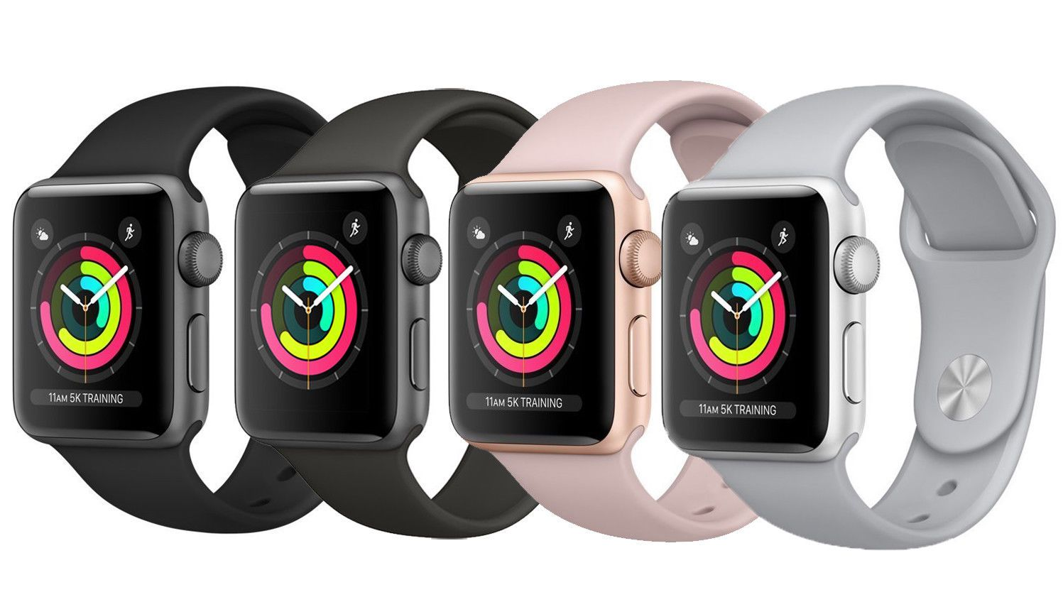 Details About New Apple Watch Series 3 42mm Smartwatch Gps