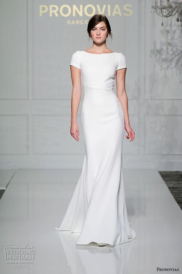 Pronovias 2016 Wedding Dresses New York Bridal Runway Show