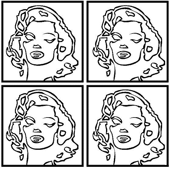 knowledge andy warhol marilyn monroe fine art coloring for adults