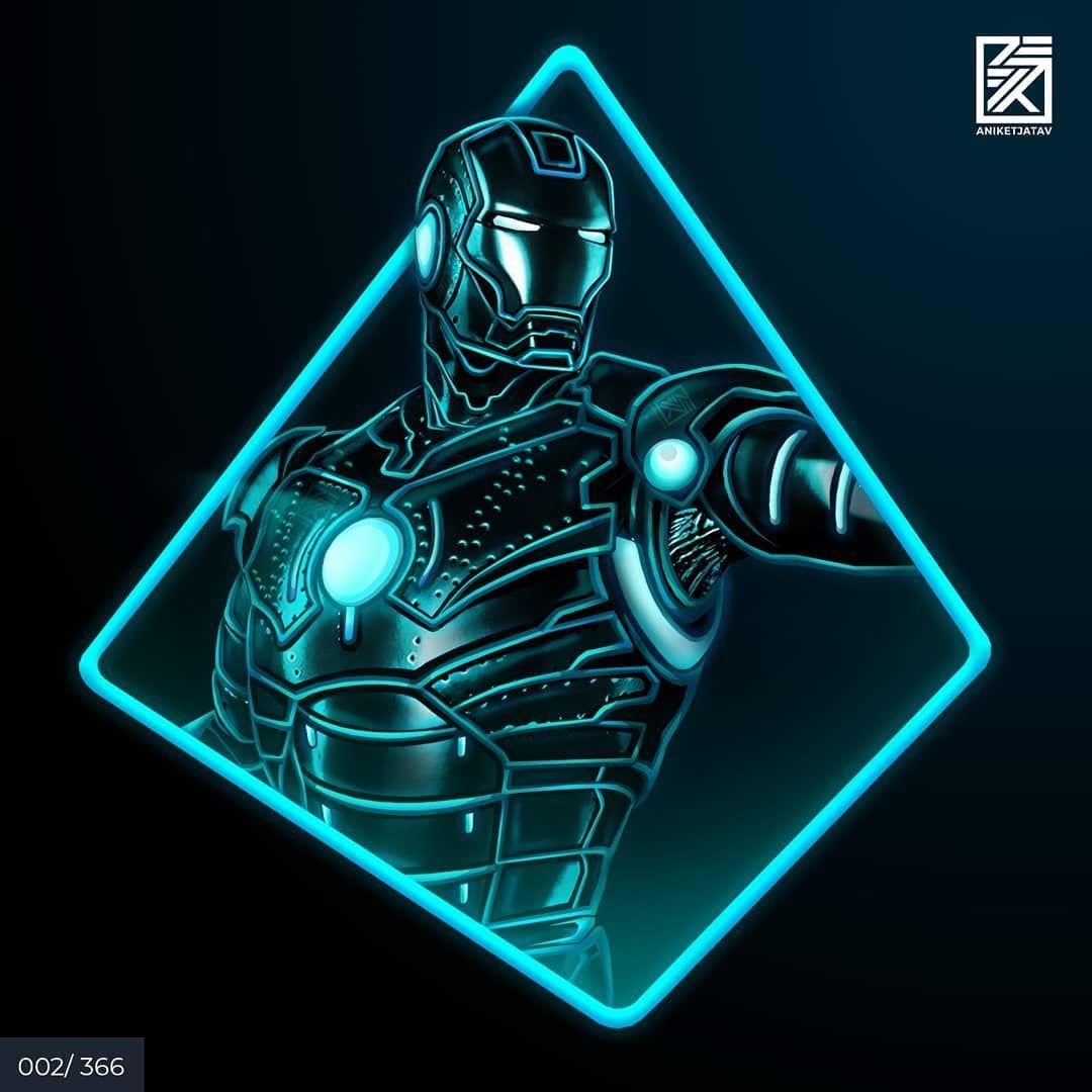 Aniket Jatav On Instagram 002 366 Neon Iron Man Series Artwork 2 Mark Ii Armor One Of My Most Favou In 2020 Iron Man Artwork Iron Man Iron Man Wallpaper