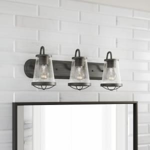 Home Decorators Collection Georgina 3-Light Weathered Iron ...