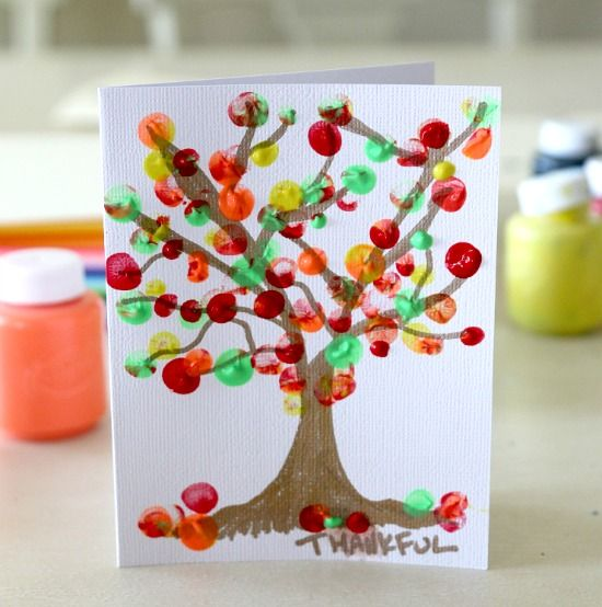 Thanksgiving Day Craft Ideas | Diaries of a Domestic Goddess