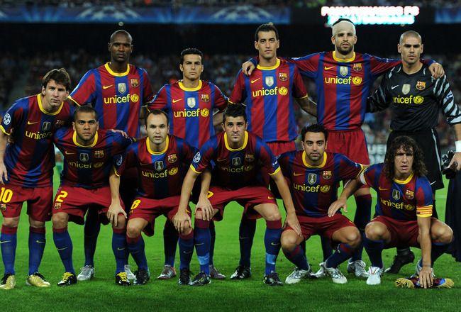 Barcelona Fc Squad 2011